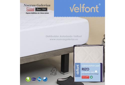 Velfont Krippe Gesteppter Matratzenschutz Wasserdicht | Pad Rizo