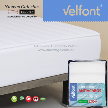 Protège-matelas matelassé Anti-acariens Réversible | Velfont