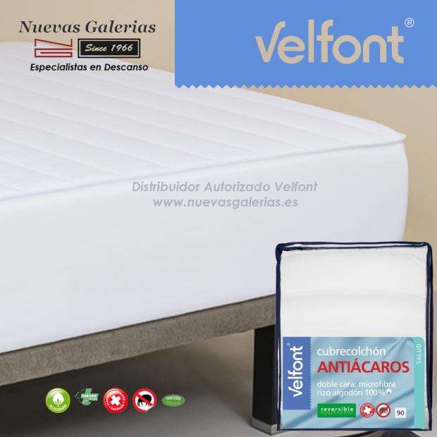 Coprimaterasso elastico antiacaro   Velfont