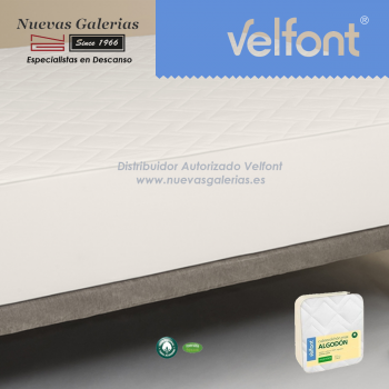 Coprimaterasso trapuntato in cotone MAX | Velfont