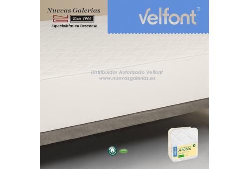 Coprimaterasso trapuntato in cotone MAX   Velfont