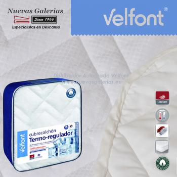 Protège-matelas matelassé Thermorégulateur 100% Coton | Velfont