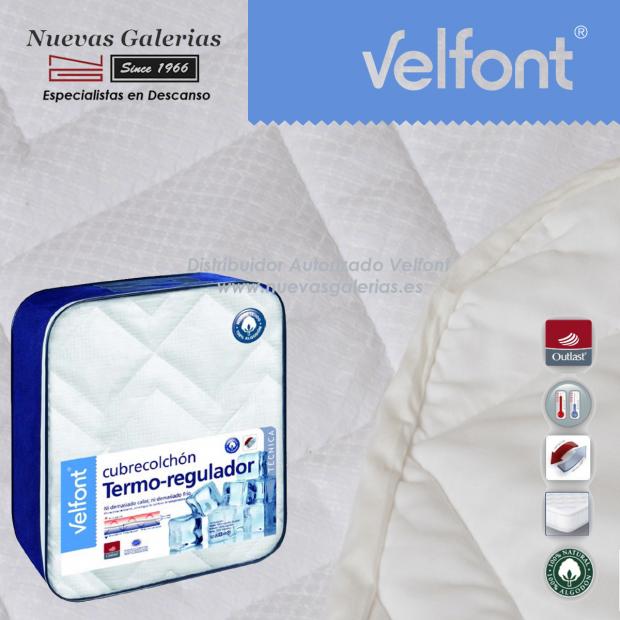 Materassino termoregolatore trapuntato in cotone 100% | Velfont