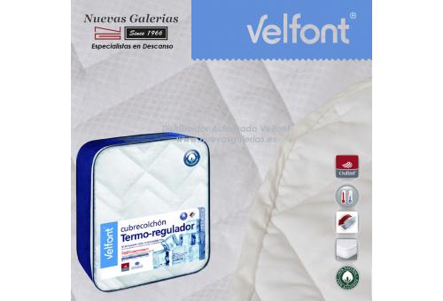 Materassino termoregolatore trapuntato in cotone 100%   Velfont