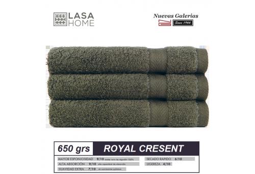 Asciugamani in cotone Verde bottiglia 650 grammi | Royal Cresent