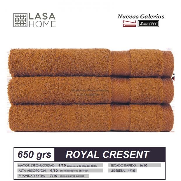100% Baumwolle Handtuch Set 650 g / m² Gelb topas | Royal Cresent