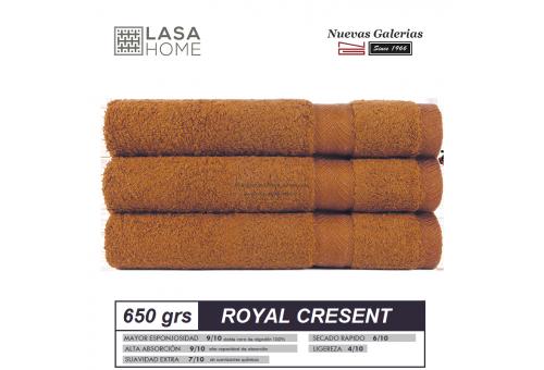 Toalla Algodón peinado 650 g / m² Amarillo Topacio | Royal Cresent