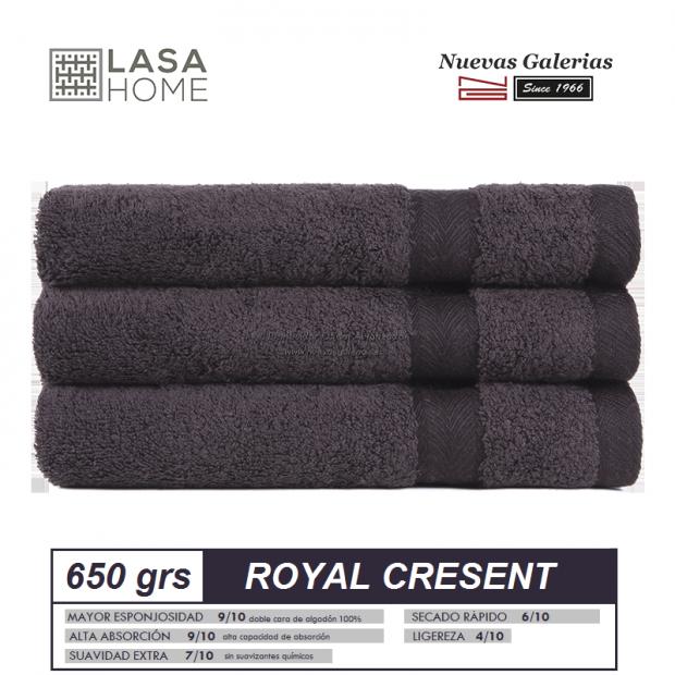 Asciugamani in cotone cioccolata marrone 650 grammi | Royal Cresent
