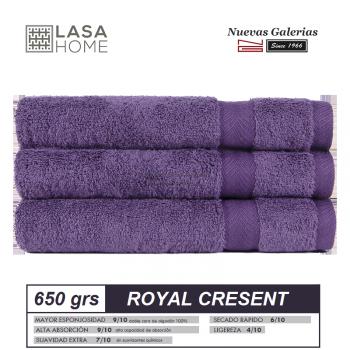 Serviettes 100% Coton 650 g / m² Violet prune | Royal Cresent
