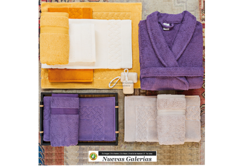 Asciugamani in cotone Terracotta rossa 650 grammi | Royal Cresent