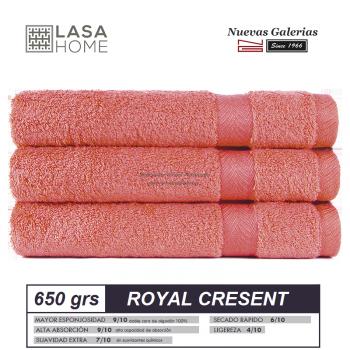 Toalla Algodón peinado 650 g / m² Terracota | Royal Cresent