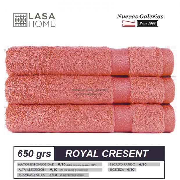 Serviettes 100% Coton 650 g / m² Rouge Terre Cuite | Royal Cresent