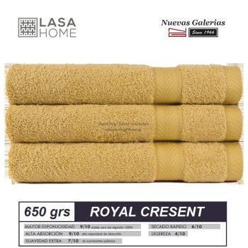 Asciugamani in cotone Quarzo giallo 650 grammi | Royal Cresent