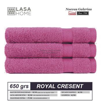 100% Cotton Bath Towel Set 650 gsm Rose Wine | Royal Cresent
