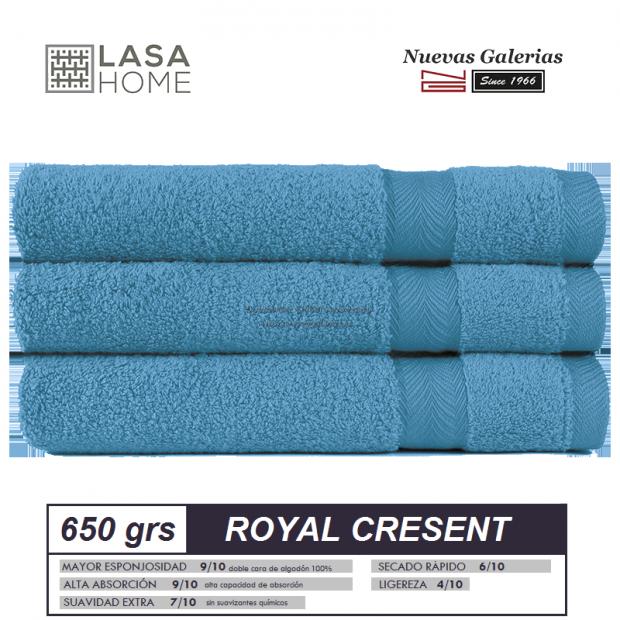 Asciugamani in cotone Mare blu 650 grammi | Royal Cresent