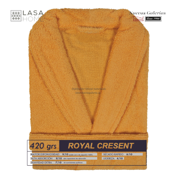 Accappatoio con collo a scialle Sunset | Royal Cresent