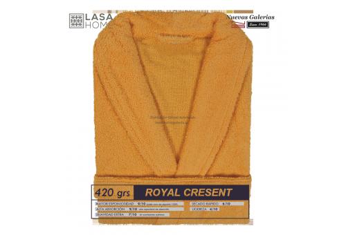 Peignoir col châle - Coton peigné Sunset | Royal Cresent