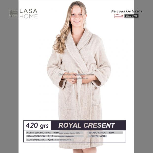 Shawl Collar Robe Gray Stone| Royal Cresent