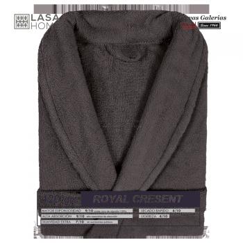 Accappatoio con collo a scialle Cioccolata marrone | Royal Cresent