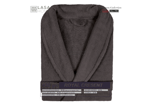 Shawl Collar Robe Brown Chocolate| Royal Cresent