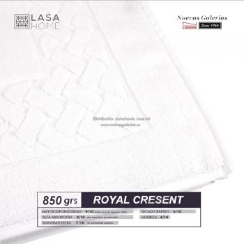 Tappeto bagno in spugna di cotone Bianco 850 grammi | Royal Cresent