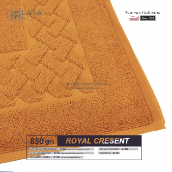 Tapis de bain 100% coton 850 g / m² Jaune Miel | Royal Cresent