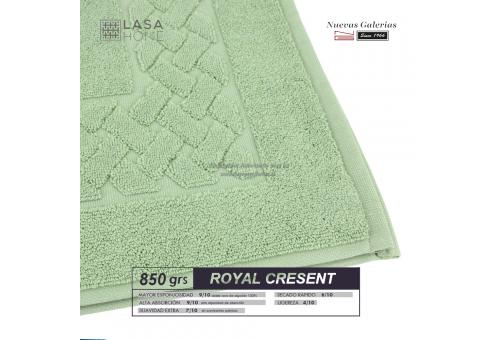 Alfombra de Baño Algodón 850 g / m² Verde Celadon | Royal Cresent
