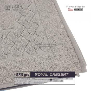 100% Baumwolle Badteppich 850 g / m² Grauer Stein | Royal Cresent