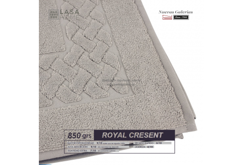 100% Cotton Bath Mat 850 gsm Gray stone | Royal Cresent