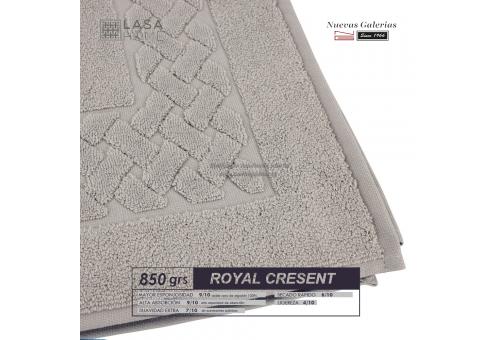 Tappeto bagno in spugna di cotone Grigio pietra 850 grammi | Royal Cresent
