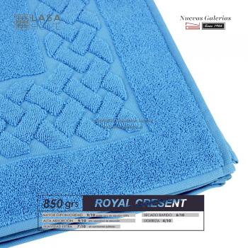 Tapis de bain 100% coton 850 g / m² Bleu ciel | Royal Cresent