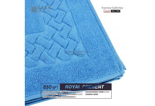 Tappeto bagno in spugna di cotone Blu cielo 850 grammi | Royal Cresent