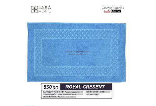 100% Baumwolle Badteppich 850 g / m² Himmelblau | Royal Cresent