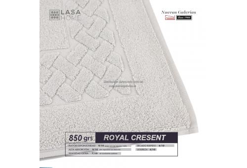 Tappeto bagno in spugna di cotone Platino 850 grammi | Royal Cresent