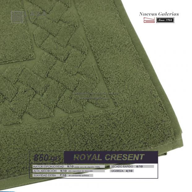 100% Cotton Bath Mat 850 gsm Bottle Green | Royal Cresent
