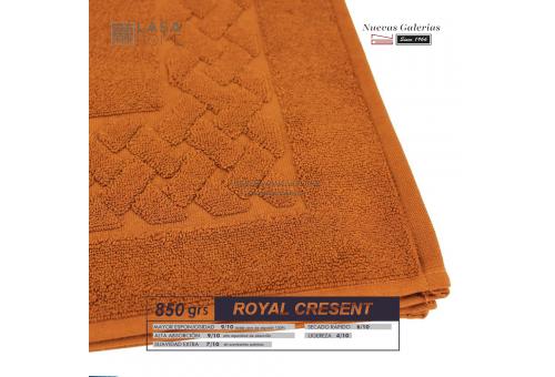 100% Baumwolle Badteppich 850 g / m² Gelb topas | Royal Cresent