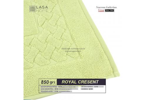 Tappeto bagno in spugna di cotone verde pastello 850 grammi   Royal Cresent