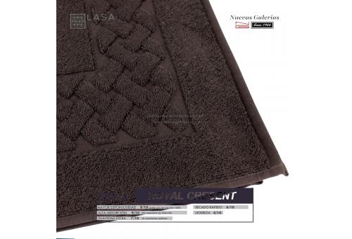 Tappeto bagno in spugna di cotone cioccolata marrone 850 grammi | Royal Cresent