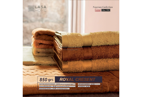 100% Cotton Bath Mat 850 gsm brown chocolate | Royal Cresent