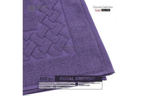 Tapis de bain 100% coton 850 g / m² Violet prune | Royal Cresent