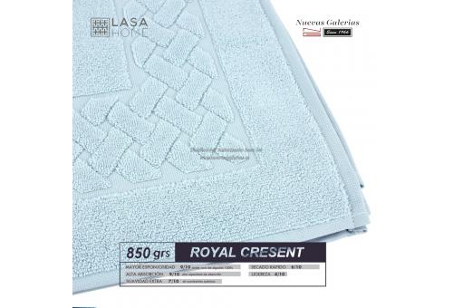 100% Baumwolle Badteppich 850 g / m² Blassblau | Royal Cresent