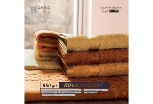 100% Baumwolle Badteppich 850 g / m² Stahlgrau | Royal Cresent
