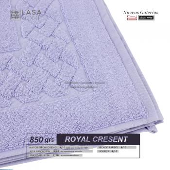 100% Baumwolle Badteppich 850 g / m² Lavendelblau | Royal Cresent