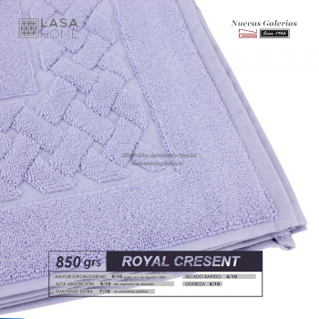 100% Cotton Bath Mat 850 gsm Lavander Blue | Royal Cresent