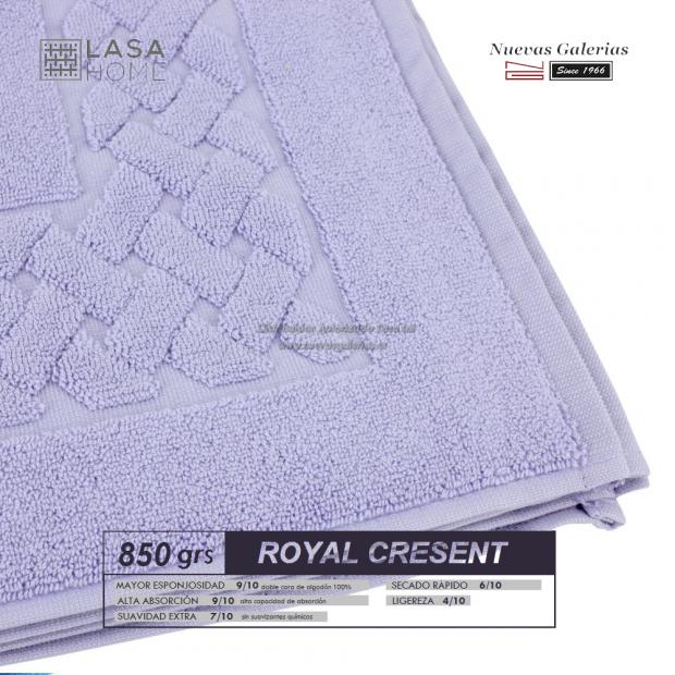 Tapis de bain 100% coton 850 g / m² Bleu lavande | Royal Cresent