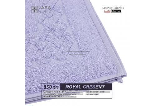 Tappeto bagno in spugna di cotone Blu lavanda 850 grammi | Royal Cresent
