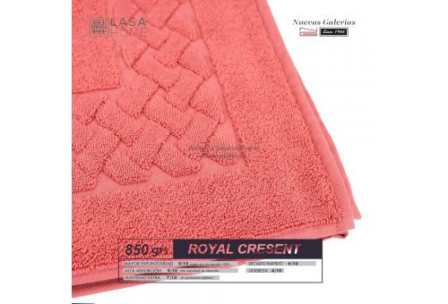 Tapis de bain 100% coton 850 g / m² Rouge Terre Cuite | Royal Cresent