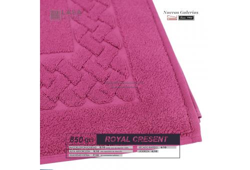 Alfombra de Baño Algodón 850 g / m² Vino rosado | Royal Cresent