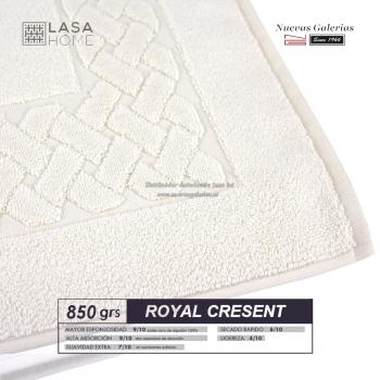Alfombra de Baño Algodón 850 g / m² Crema | Royal Cresent