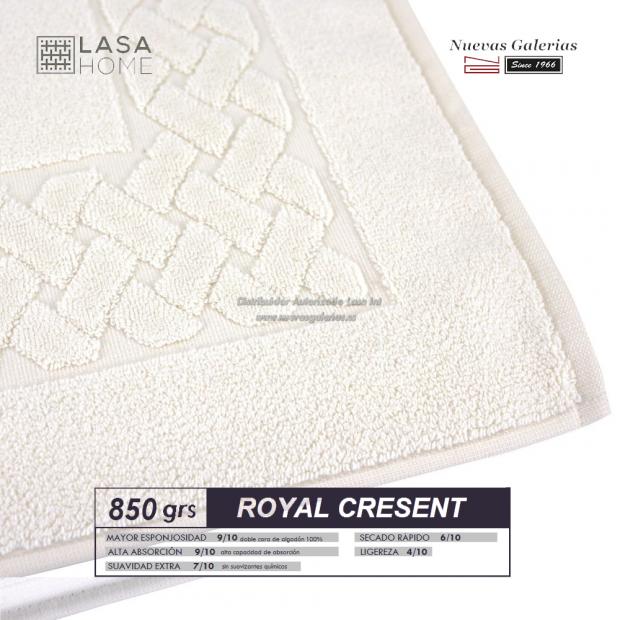 100% Baumwolle Badteppich 850 g / m² Sahne | Royal Cresent